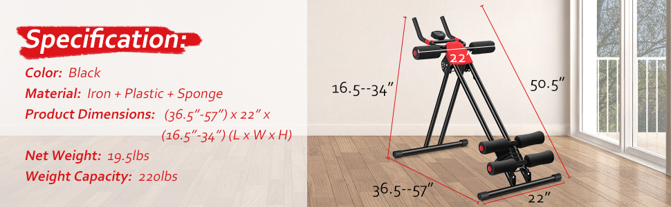 adjustable ab machine for home
