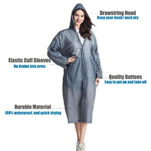 HLKZONE Rain Coats