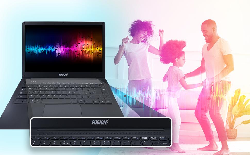Soundbar sound bar high quality stereo sound high quality speaker on laptop