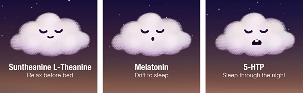 Suntheanine L-Theanine, Melatonin, 5-HTP