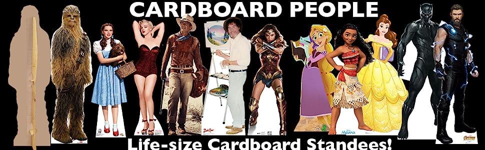 Cartón Personas tamaño real Cartón Standees