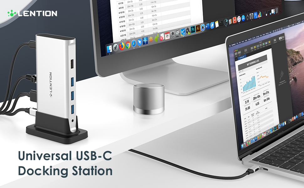 universal usb c docking station