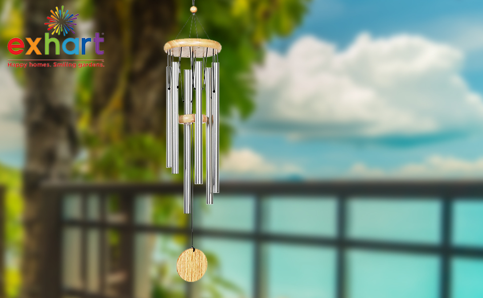 Silver Metal Wind Chime