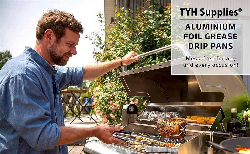 weber grill drip pans aluminum