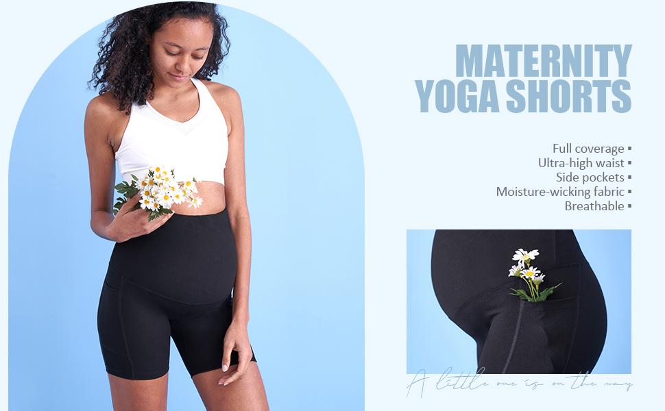 maternity running shorts