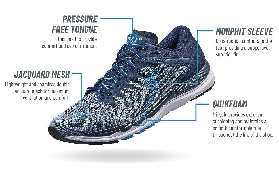 sensation 4 shoe