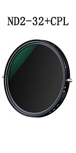 nd filter cpl filter