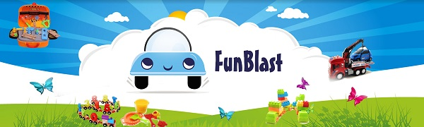 FunBlast Toys, Toys and Games, Auto toy for kids, light and sound toys for kids