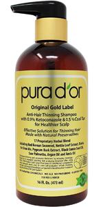 Pura DOr Adelgazamiento del cabello grado profesional terapia ...