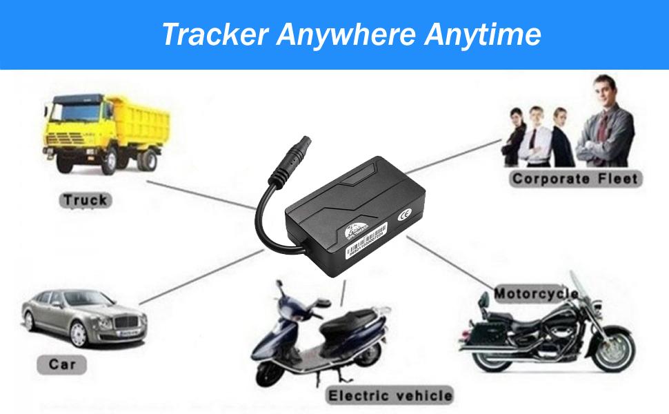 gps tracker bike