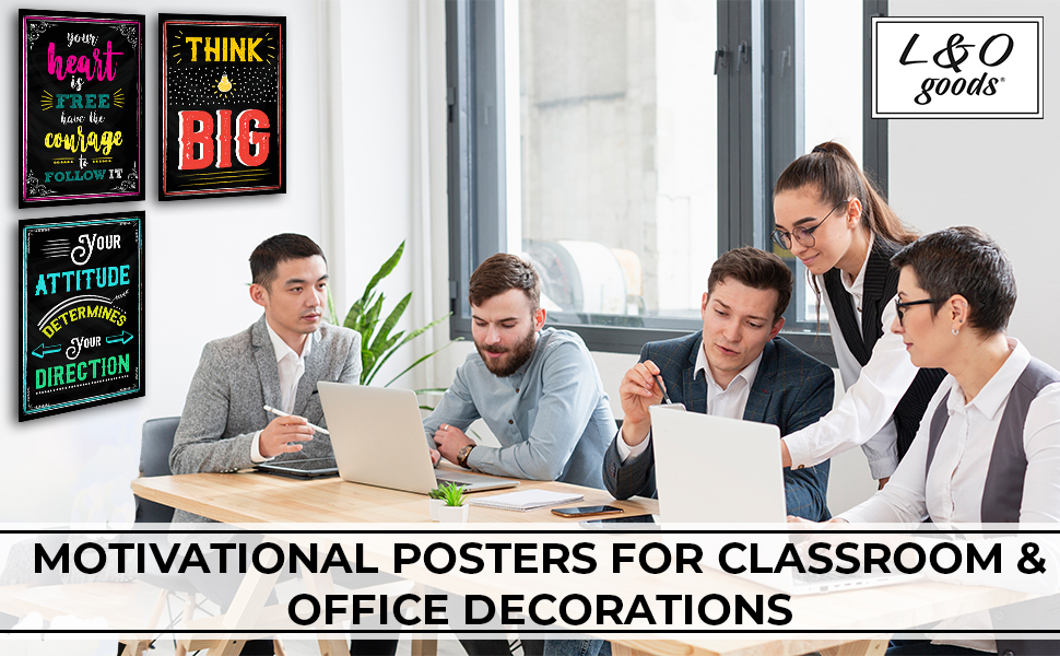 men women office home wall decor inspirational motivational posters