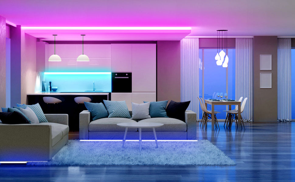 Bluetooth led strip lights