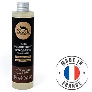 huile nourrissante cuir pied de boeuf