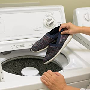 machine washable, disinfecting, cleaning, washing, zenz, mens slip on, slippers