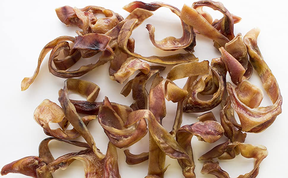Super Can Pig Ear Slivers Dog Chews treats for puppies small medium and large dogs