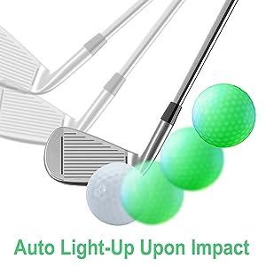 Flashing Golf Ball