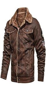leather jacket men,leather jacket for men, Men's Pilot Jacket, Men's Leather Jacket, Leather Jacket