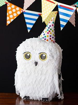 Riles & Bash Party Supplies, online party shop, owl pinata, pinatas