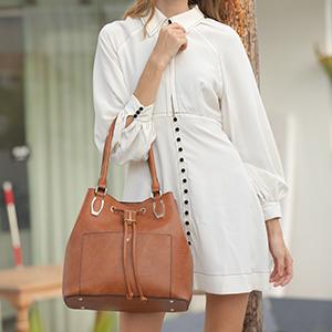 LJOSEIND designer Hobo handbags large tote