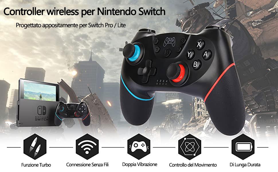 Controller Wireless per Nintendo Switch