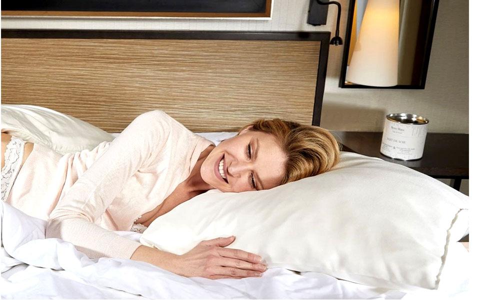 silk pillowcases white
