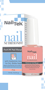 Nail Tek Nail Nutritionist Hyaluronic Acid Masque, 0.5 oz