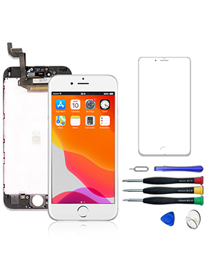 iphone 6s screen replacement kit full assembly  digitizer no earpiece no camera no home button