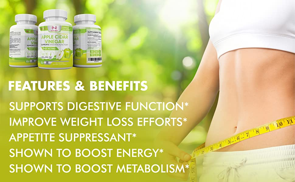 acv capsules pill capsules bloating relief and weight loss appite suppressant vinegar pills