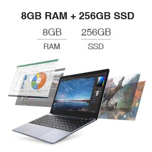 8G RAM + 256G SSD