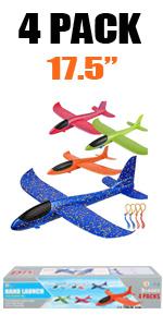 4 pack slingshot airplane