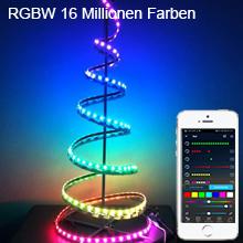 RGBW 16 Millionen Farben Dimmbar