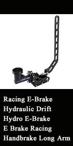 Racing E-Brake Hydraulic Drift Hydro E-Brake E Brake Racing Handbrake Long Arm