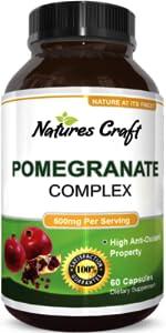 immune system pomegranate fruit energy pill antioxidant health pomegranate seed oil supplement red