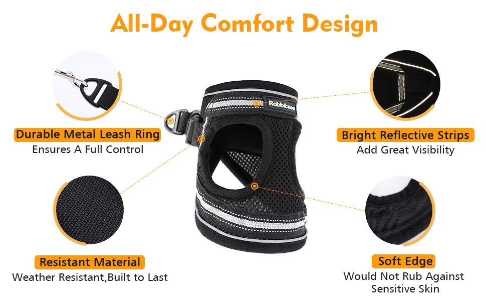 comfortable cat harness