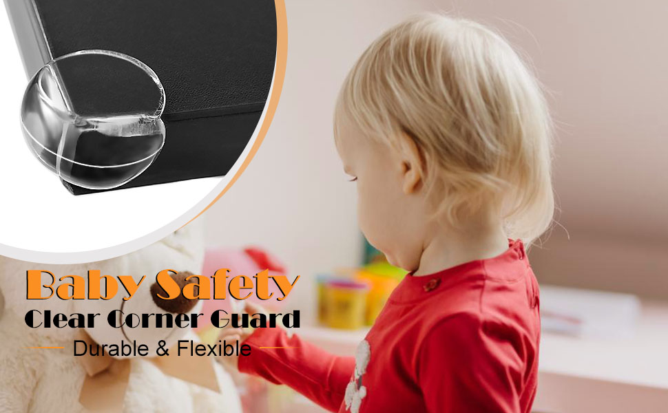 Transparent Baby Proofing Safety Corner Edge Guards Furniture Table Sharp Corner Protectors Bumper