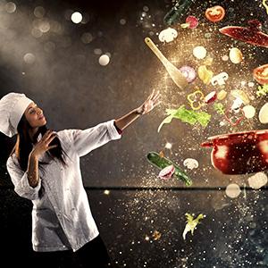 magic cook chef spices pot