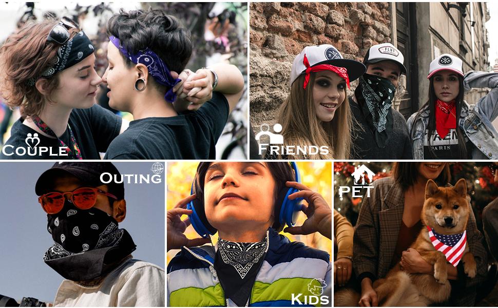 bandana for men head bandanas for women black bandana face scarf headscarf scarf face mask face mask