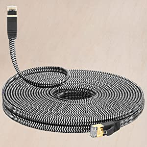 Ethernet Cable Nylon Braided