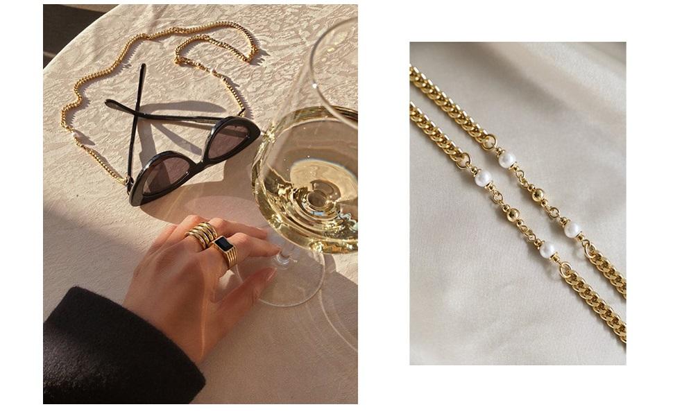 chic eyeglass chain 2