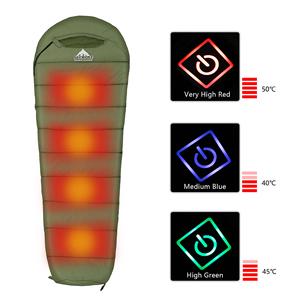 Heating sleeping bag