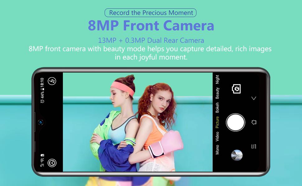 dual cameras smartphone