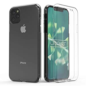 Urcover® Funda Compatible con Apple iPhone 11 Pro Touch Case Mejorada Cover 360 Grados edicion Blanda Carcasa, Carga inalámbrica Qi, Case Transparente: Amazon.es: Electrónica