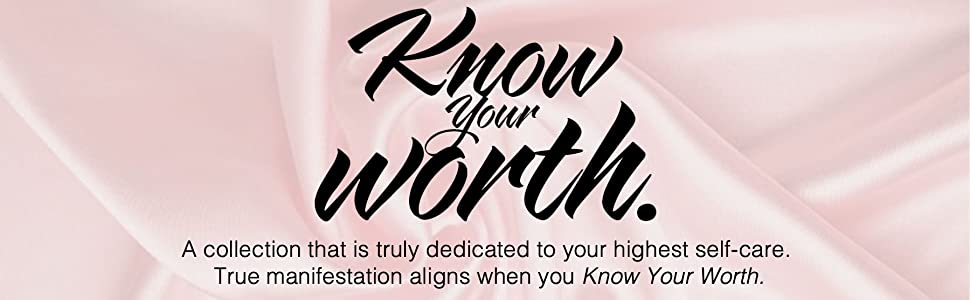know your worth banner