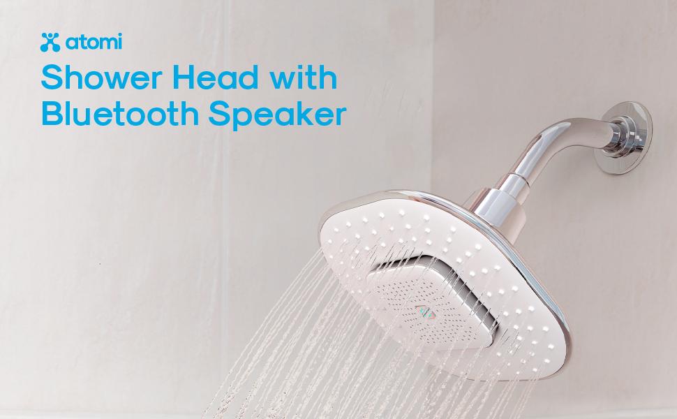 Atomi Bluetooth Shower Head Speaker