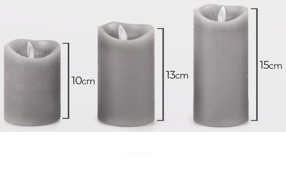 dimensions scale size 10cm 15cm 13cm small quaint petite glow candle package gift christmas wax burn