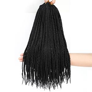 box braids crochet hair