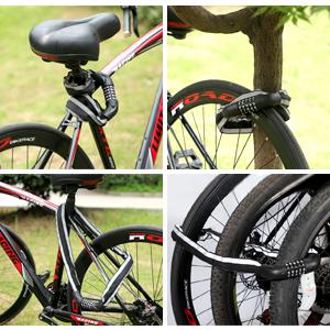 Multifunctional Use  Bike Lock