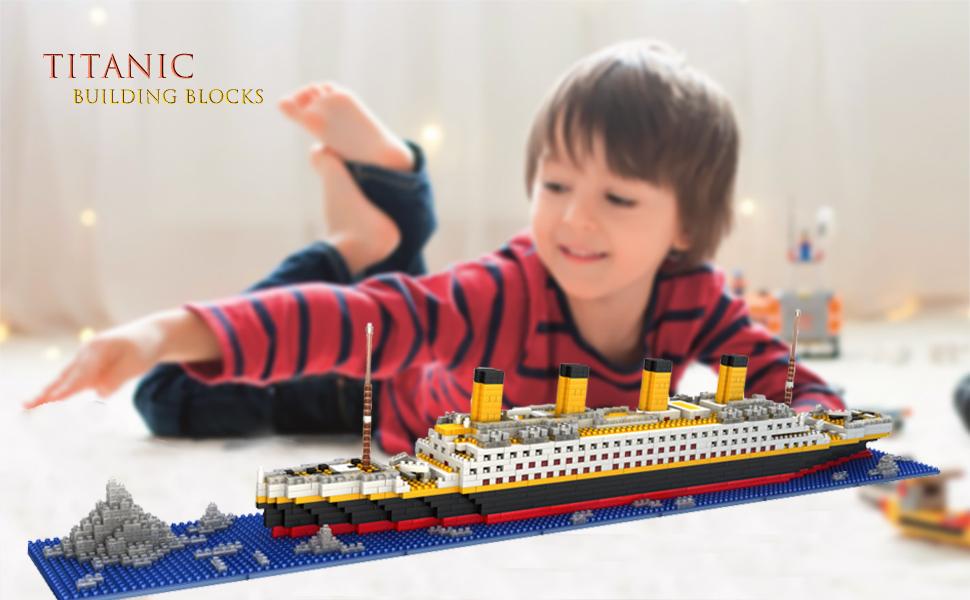 dOvOb Micro Mini Blocks Titanic Model Building Set Adults ...