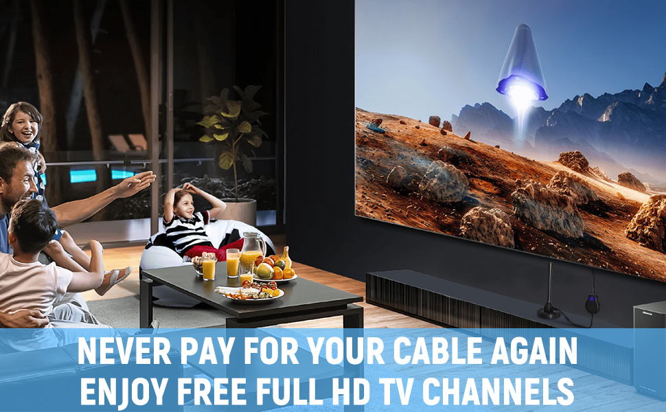 Never Pay for Your Cable Again, Enjoy Free Full HD TV Channels