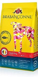ブラバンソンヌ ペットフード ドッグフード 大型犬 成犬用 オーシャンフィッシュ